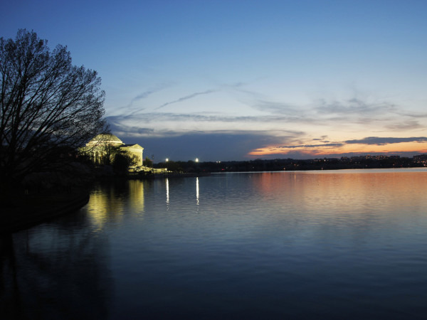 Jefferson at Sunset