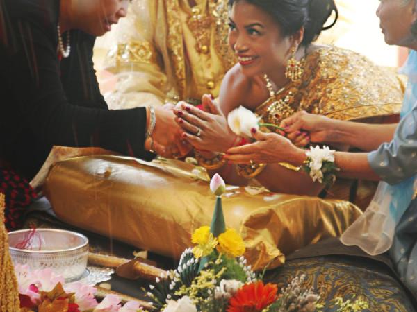 Cambodian Wedding Ceremony