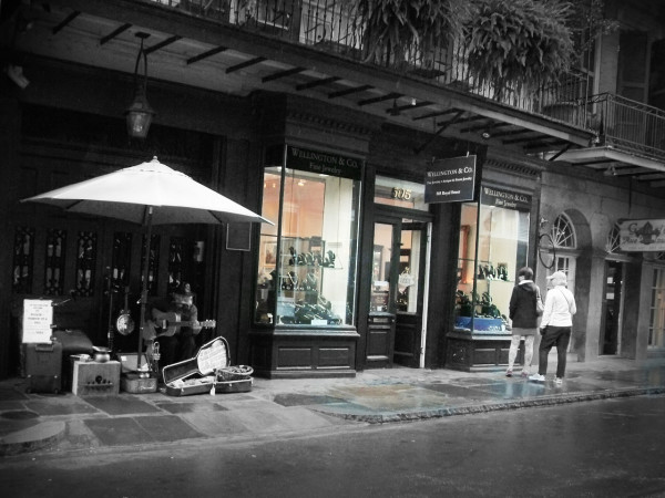 Busker of Royal Street