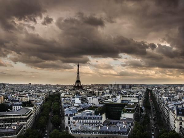 Paris from the Arc de Triomphe