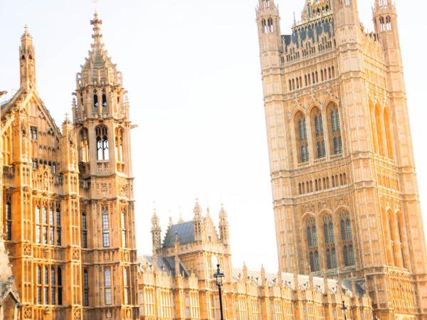 Parliament in the Afternoon Light