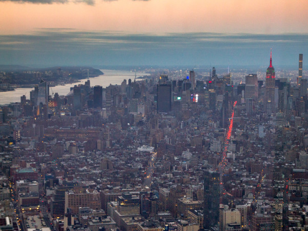 NYC from One World Trade 1